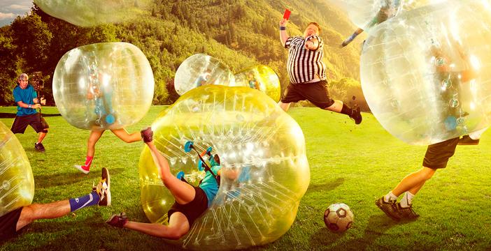 Fútbol Burbuja en Alicante